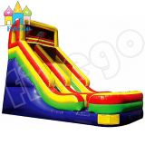 New Giant Inflatable Slide Inflatable Bouncy Castle with Water Slide