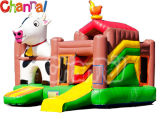 Kids Inflatable Air Jumper Combo Farm Fun Inflatable Bouncer Slide