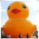 Outdoor Giant Size Big Yellow Duck Inflatable Product Model
