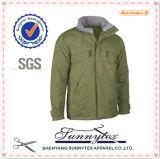 Wholesale Men Winter Hood Windproof Coat