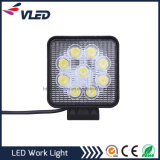 27W Waterproof Epistar LED Working Lamps for Car Truck