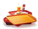 Plastic Food Tray for Restaurant / School / Eatery / Cafeteria