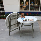 Plastic Round Folding Dining Table