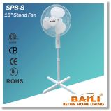 """Stand Fan 16"""" with Tilting Angle and Oscillation Function"""