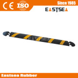 Black & Yellow Rubber 6 Feet Reflective Speed Hump Ramp