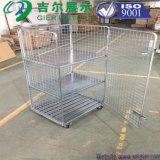 Folding Zinc Plated Roll Container for Storage (SLL07-L017)