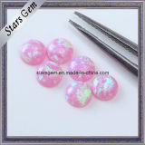 Lab Created Loose Gemstones Created/Synthetic Opal Round