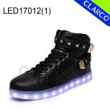 Adults Winter Sports Sneaker LED Light Boots with Synthetic Upper