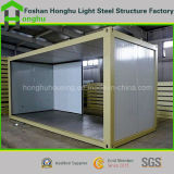Rock Wool/Glass Wool/EPS Sandwich Panel Steel Structure Living Container House