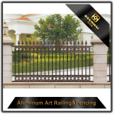 Powder Coated Decorative Aluminum Metal Garden Fence for Security