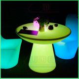 LED Light Table Illuminated Outdoor Furniture