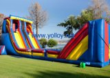Classic Mobile Inflatable Zip Line for Amusement