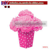 Wedding Decoration Bright Pink Fluffy Flower Centerpiece Decor (W1013)