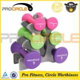Fitness Equipment Neoprene/Vinyl Used Dumbbell Rack for Sale