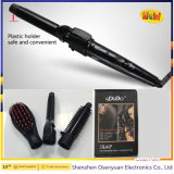 Wholesale Barber Supplies 3 in 1 Professional Ceramic Hair Straightener, Curler, Brush