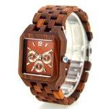 2017 New Design Men Red Sandalwood Wooden Watch