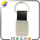 Fashion Promotional Black Leather Key Chain