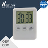 Cheap Plastic White Count Down Timer for Promotion