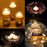 Floating Mini Candles Waterproof Paraffin Wax Wedding Party Bar Home Decor