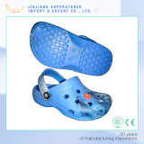 Single Color EVA Unisex Clogs, Fashion Beach Clogs with Charms