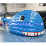 Inflatable Model Cartoon for Advertising Promotion/Cute Whale Cartoon Model