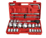 "26PCS 3/4"" & 1"" Series Hand Tools Socket Wrench Set For Machinery Maintenance"