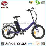 20 Inch 250W Mini Cheap Electric Folding City Bike Ce En15194 Approved Foldable Bicycle Pedal E-Bike