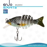 Angler Select Multi Jointed Hard Fishing Lures Salt & Fresh Water Fishing Bait Fishing Tackle (MS2005V)