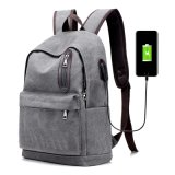 Fashion Modern Leisure Travel Backpack with USB Port