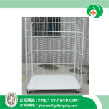 Metal Cage Trolley for Warehouse Storage with Ce