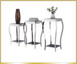 Luxury Stainless Steel Flower Shelf for Living Room