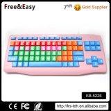 88 Keys Wired Keyboard Colorful Keyboard