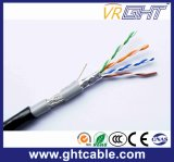 China Hot Sale 4X0.4mmcu Outdoor SFTP Cat5e LAN Cable