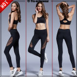 Women′s Sports Pants Legging Compression Tights with Logo Printing