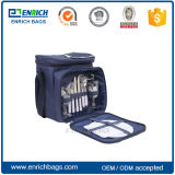 2 Person Insulated Picnic Bag with cutlery and Cooler Compartment
