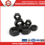 DIN 934 Black Oxied Carbon Steel Hex Nut M10