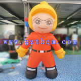 High Quality Advertising Custom Colorful Inflatable Cartoon Characters