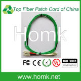 LC-Sc Green Cable Fiber Patch Cord Duplex