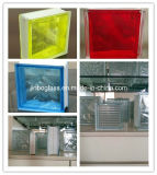 Clear / Colored Glass Block / Brick for Wall with Ce&ISO Certification (JINBO)
