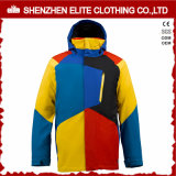 2016 Winter Mens Waterproof Nylon Snowboard Jacket