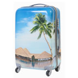 PC Luggage Case with Customized Embossing
