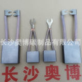 High quality metal carbon brush for forklift electric motor