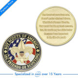 Custom Gold Souvenir Challenge Coin for Promotion Gift