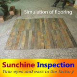 Slate Flooring Quality Control Inspection / Third Party Inspection Company