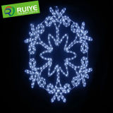LED Snow Flow Light Made by Rope Light for Engineering Decoration