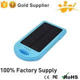 5, 000mAh Portable Power Bank Solar Charger