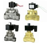 Stainless Steel Piston Water Gas Normally Open Diaphragm Valve (2/2-WAY)