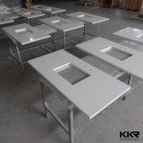 Custom Made Pure White Artificial Quartz Countertops
