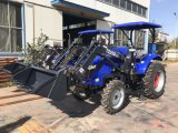 55HP 4WD Agricultural Wheel Tractor