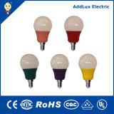 UL cUL FCC-RoHS 120V 3W E26 E27 Colorful LED Bulb